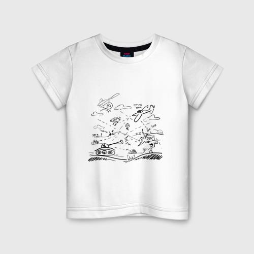 Детская футболка хлопок Бой