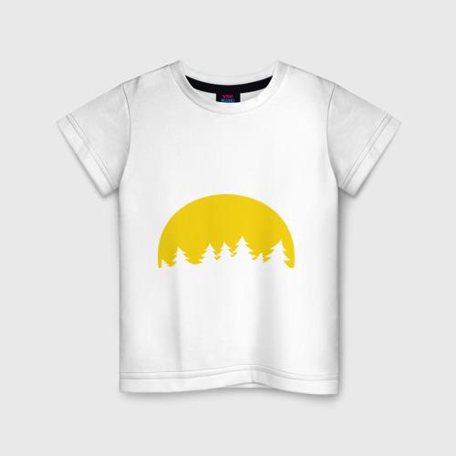 Детская футболка хлопок Полная луна