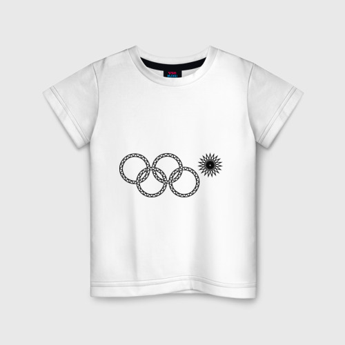 Детская футболка хлопок Нераскрывшееся кольцо