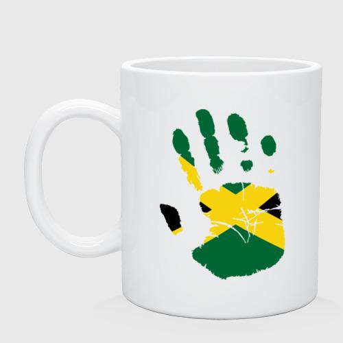 Кружка керамическая Рука Ямайки