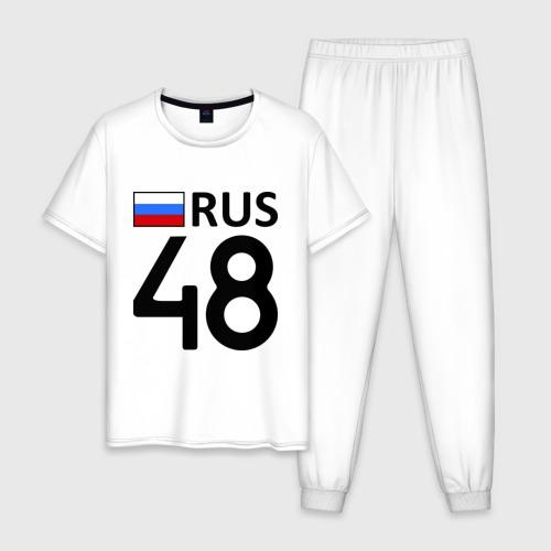 Мужская пижама хлопок Липецкая область (48)