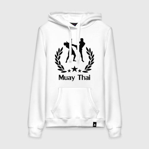 Женская толстовка хлопок Muay Thai (Тайский бокс)