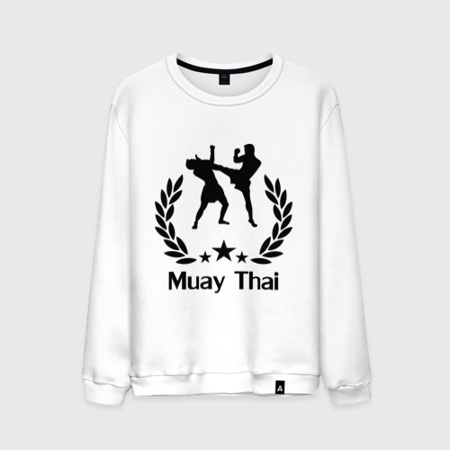 Мужской свитшот хлопок Muay Thai (Тайский бокс)