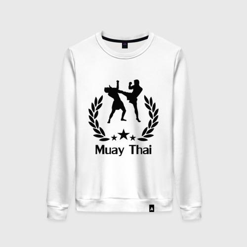 Женский свитшот хлопок Muay Thai (Тайский бокс)