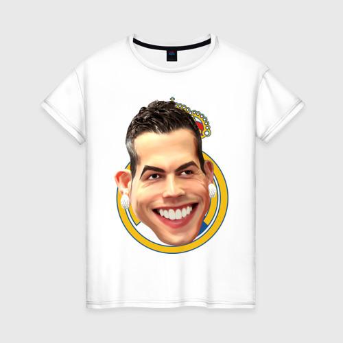 Женская футболка хлопок Криштиану Роналду