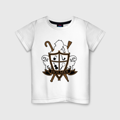 Детская футболка хлопок Sherlock Shield