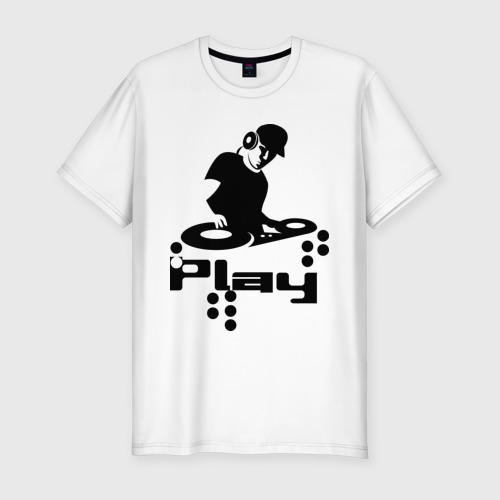 Мужская футболка премиум Диджик играй