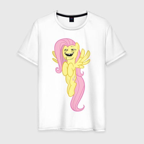 Мужская футболка хлопок Пони троллфейс