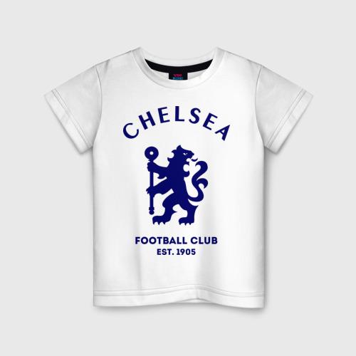 Детская футболка хлопок Челси Футбольный клуб Chelsea