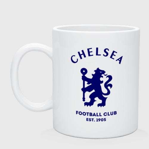 Кружка керамическая Челси Футбольный клуб Chelsea