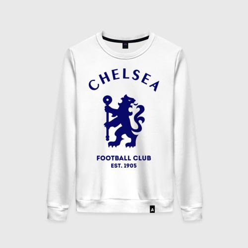 Женский свитшот хлопок Челси Футбольный клуб Chelsea