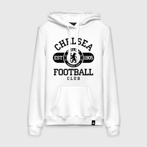 Женская толстовка хлопок Chelsea футбольный клуб