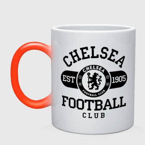 Кружка хамелеон Chelsea футбольный клуб