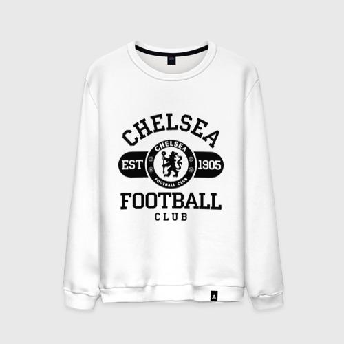 Мужской свитшот хлопок Chelsea футбольный клуб