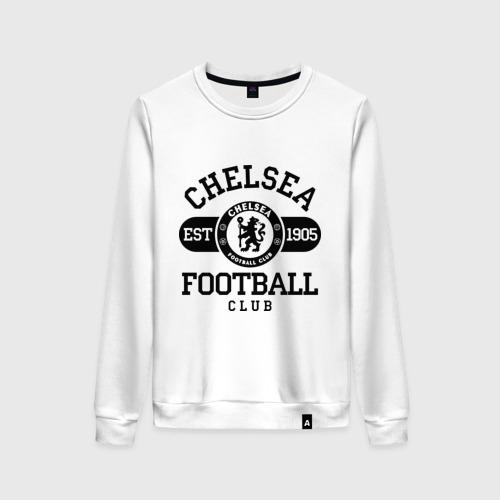Женский свитшот хлопок Chelsea футбольный клуб