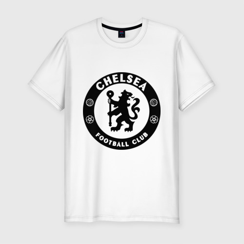 Мужская футболка хлопок Slim Chelsea logo