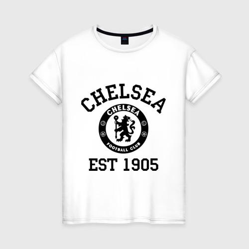 Женская футболка хлопок Chelsea 1905