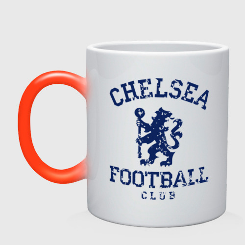 Кружка хамелеон Chelsea FC