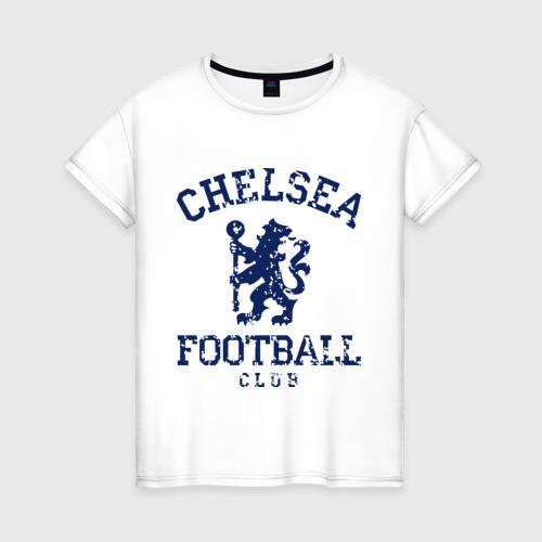 Женская футболка хлопок Chelsea FC