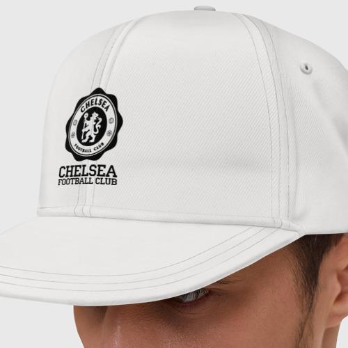 Кепка снепбек с прямым козырьком Chelsea FC