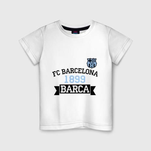 Детская футболка хлопок Barca