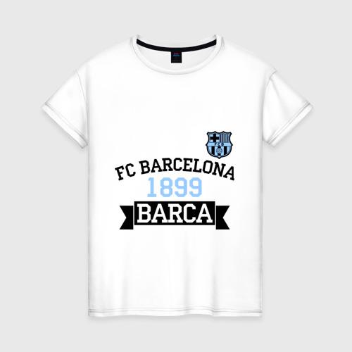 Женская футболка хлопок Barca