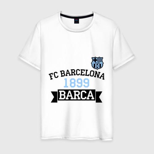 Мужская футболка хлопок Barca