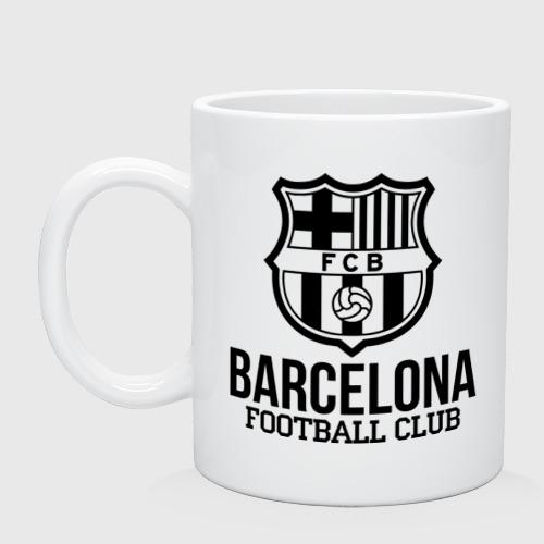Кружка керамическая Barcelona FC