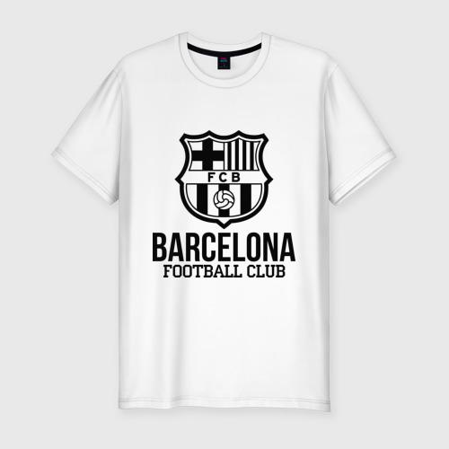 Мужская футболка премиум Barcelona FC