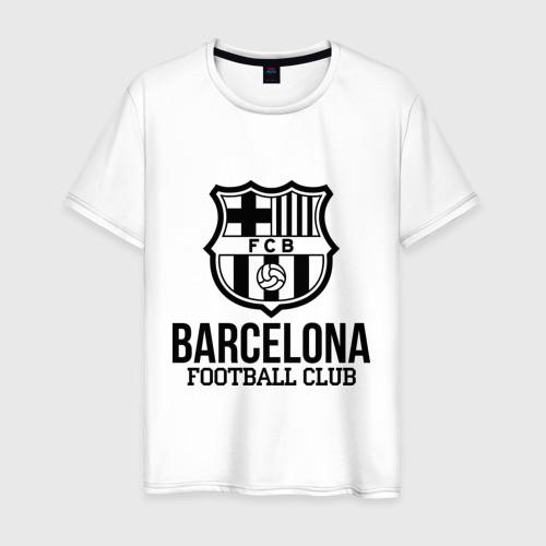 Мужская футболка хлопок Barcelona FC