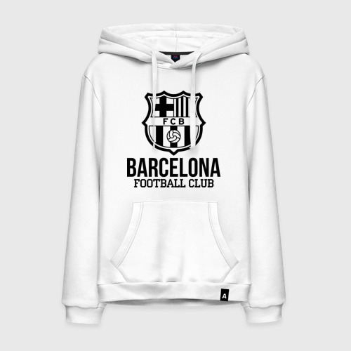 Мужская толстовка хлопок Barcelona FC
