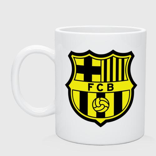 Кружка Barcelona logo