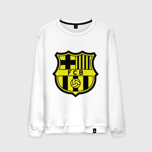 Мужской свитшот хлопок Barcelona logo
