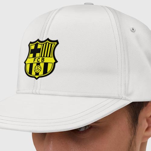 Кепка снепбек с прямым козырьком Barcelona logo