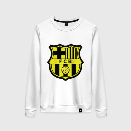 Женский свитшот хлопок Barcelona logo