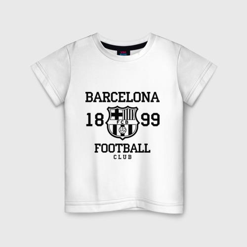 Детская футболка хлопок Barcelona 1899