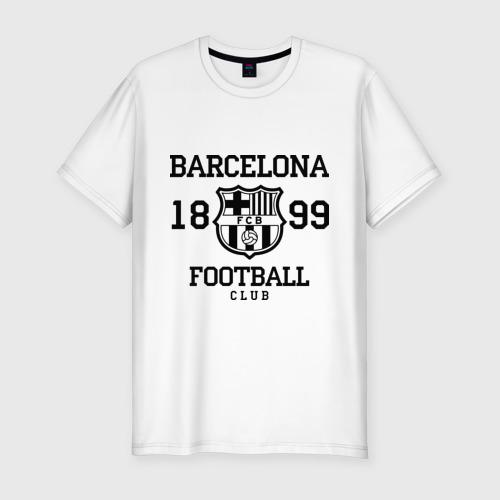 Мужская футболка хлопок Slim Barcelona 1899