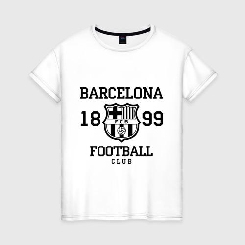 Женская футболка хлопок Barcelona 1899
