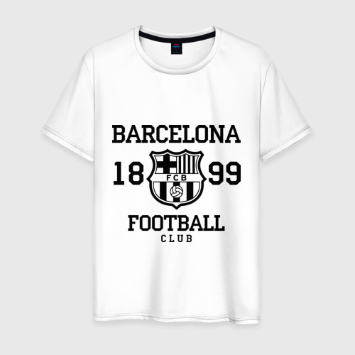 Мужская футболка хлопок Barcelona 1899