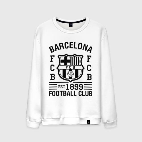 Мужской свитшот хлопок FC Barcelona