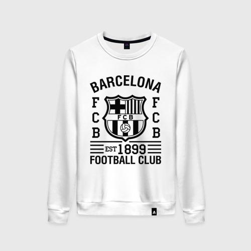 Женский свитшот хлопок FC Barcelona