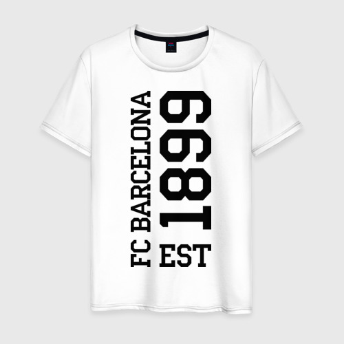 Мужская футболка хлопок FC Barcelona 1899