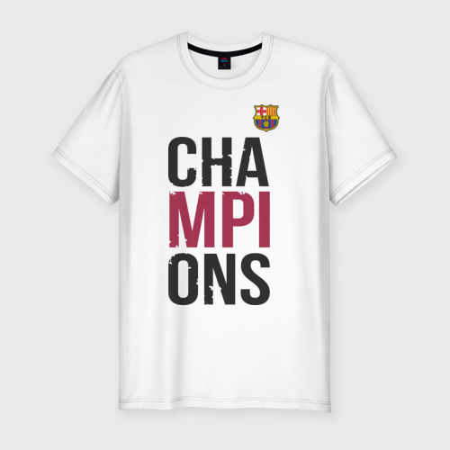 Мужская футболка хлопок Slim Champions