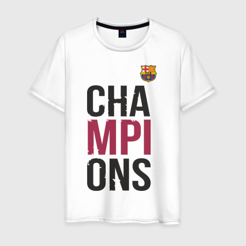 Мужская футболка хлопок Champions