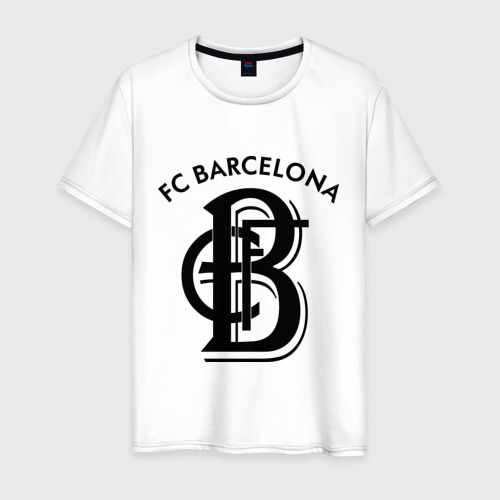 Мужская футболка хлопок FC Barcelona