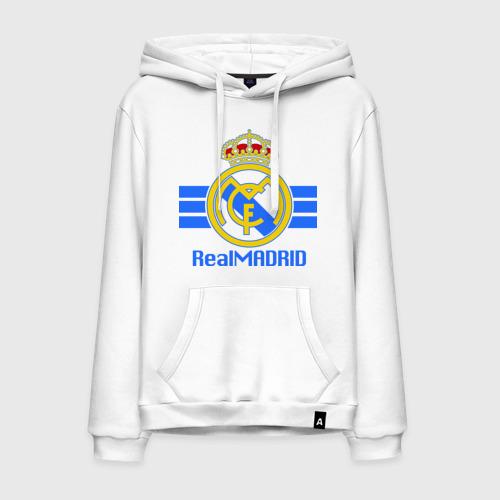 Мужская толстовка хлопок Real Madrid