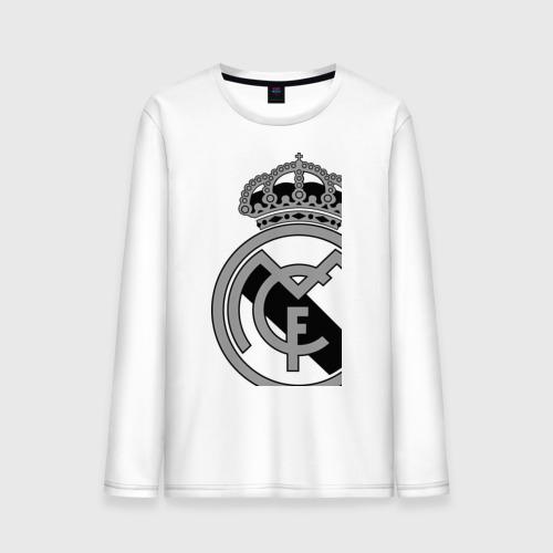 Мужской лонгслив хлопок Real Madrid