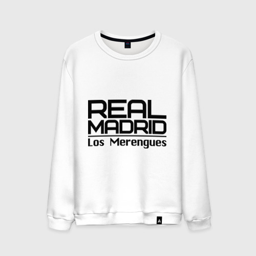 Мужской свитшот хлопок Real Madrid