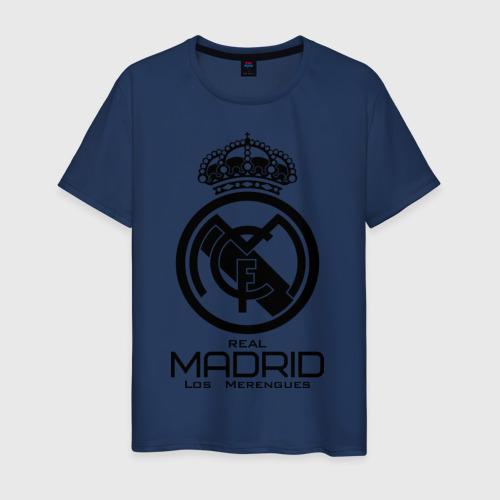 Мужская футболка хлопок Real Madrid