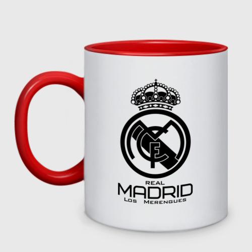 Кружка двухцветная Real Madrid
